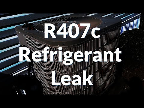 R407c Refrigerant Leak on an Old System