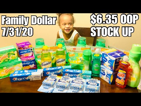 Family Dollar $6.35 OOP | $5 Off $25 ALL DIGITAL COUPONS