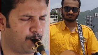 O Mere Dil ke Chain-The Golden Notes- RD Burman-Pancham Saxophone/Guitar-Ft. Yash Lalka, Guitarist