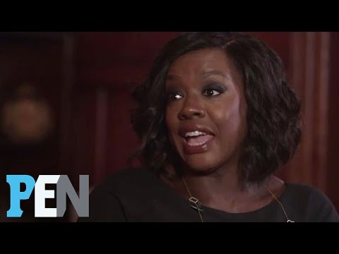 Viola Davis Wanted To Be Wonder Woman As A Kid: 'I Was Bullied' | PEN | Entertainment Weekly