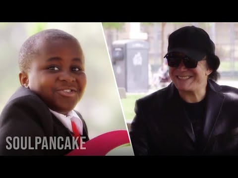 Kid President and Gene Simmons Help a Friend Propose