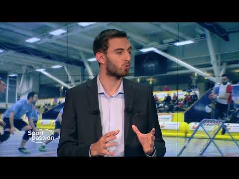 Tchoukball Geneva Indoors sur Léman Bleu TV - 24nov2017