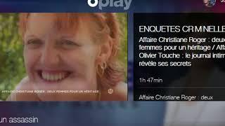 enquête criminelle affaire christianne roger p fin