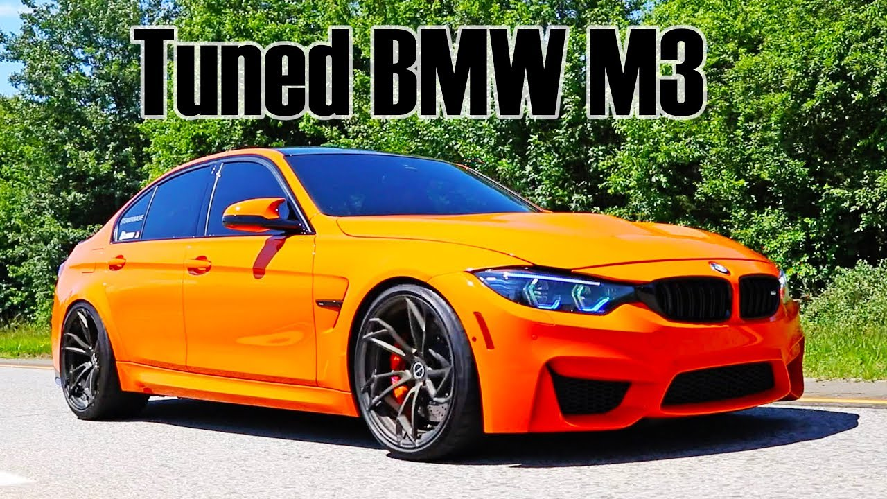 Tuned And Lowered Bmw F80 M3 Youtube