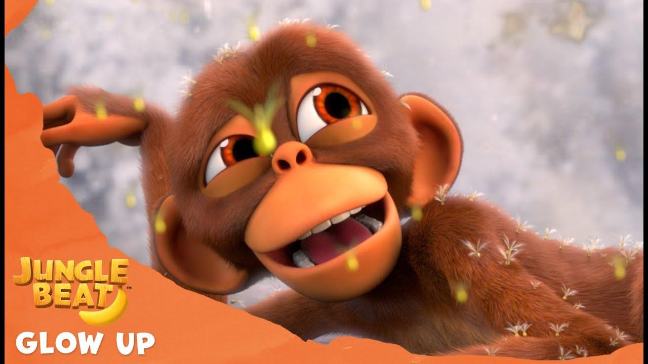 Monkey's Glow Up - Jungle Beat: Munki and Trunk   Kids Animation 2021