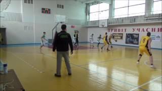 СпортЛіцей-  Загадка (Фастів) 14 тур  Біла Церква (Белая Церковь) чемпіонат з баскетболу 47:68