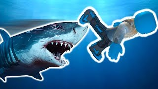 I SURVIVED A SHARK ATTACK IN ROBLOX! (ROBLOX SHARK BITE)