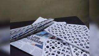 Newspaper Multi Storage Box|How to make DIY Multipurpose Organizer|Best out of waste craft idea