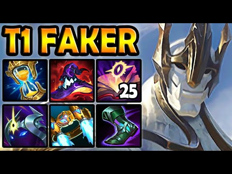 T1 Faker GALIO MID vs LUCIAN - Patch 10.23 Ranked Korea ✅