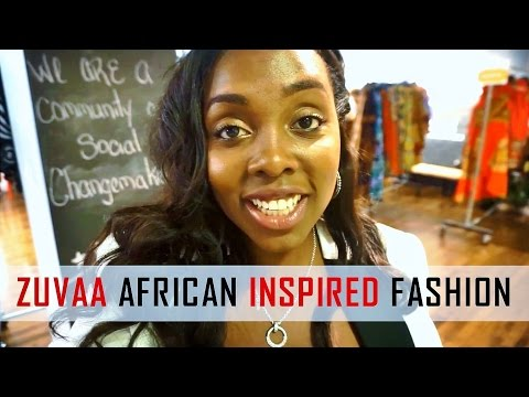 ZUVAA AFRICAN INSPIRED FASHION feat. KELECHI ANYADIEGWU | DC TRAVEL GUIDE