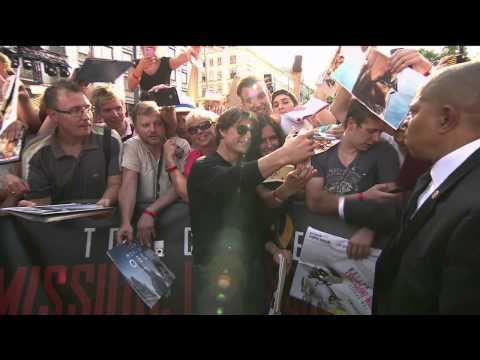 Mission: Impossible: Rogue Nation: Red Carpet Movie Premiere Arrivals - Tom Cruise