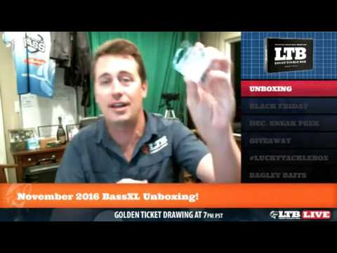 LTB LIVE - November Unboxing