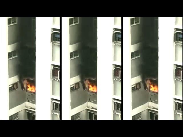 HDB fire in Ang Mo Kio; 130 evacuated