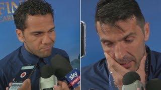 Alves i Buffon po finale.
