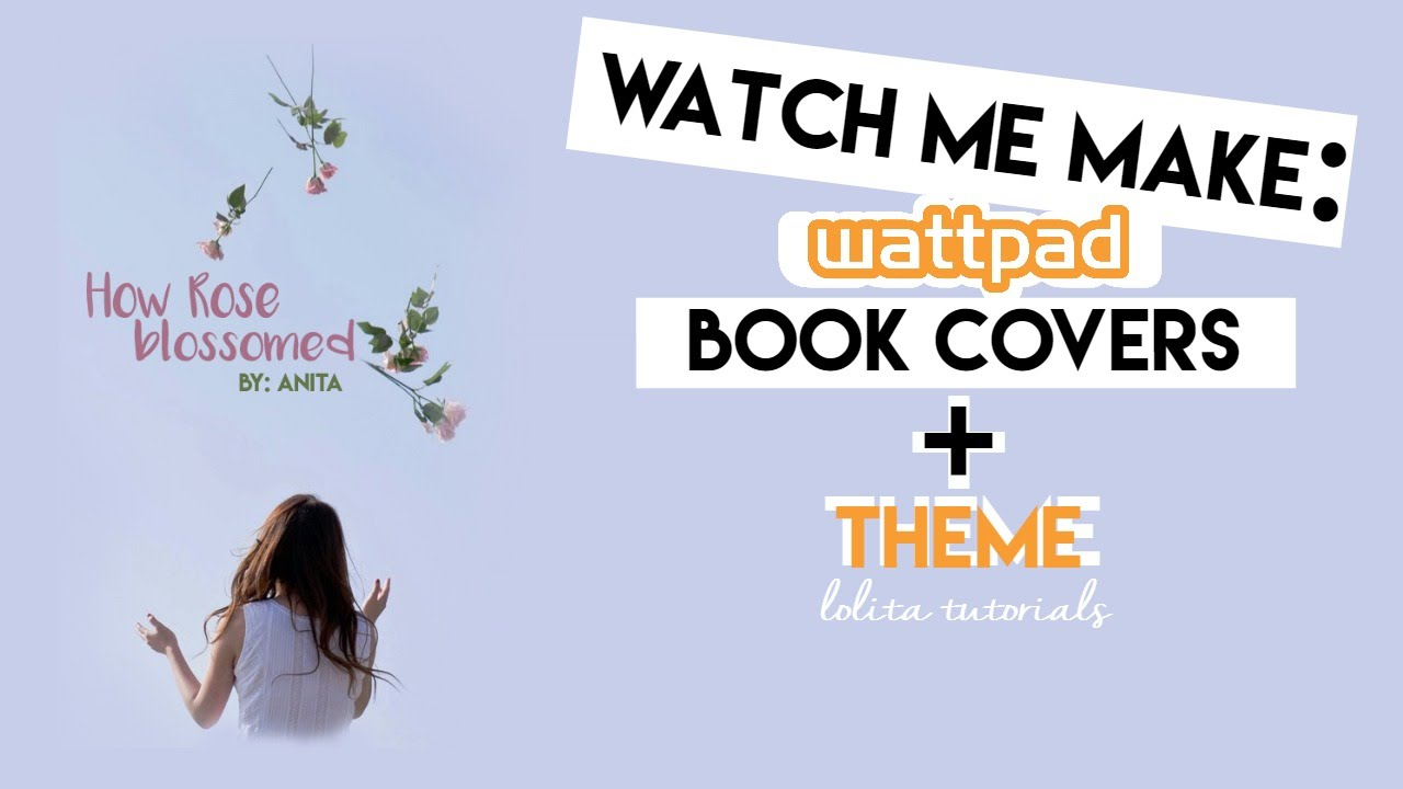 Simple Book Cover Ups : Wattpad simple book covers theme youtube