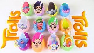 PJ Masks Romeo Slime Game with Play Doh Surprise Eggs, Trolls Movie Poppy, Nick Jr Paw Patrol Toys