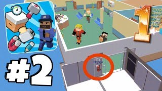 HIDING IN THEIR SPAWN! | Hide.io Gameplay Walkthrough Part 2 (Prop Hunt io Game)