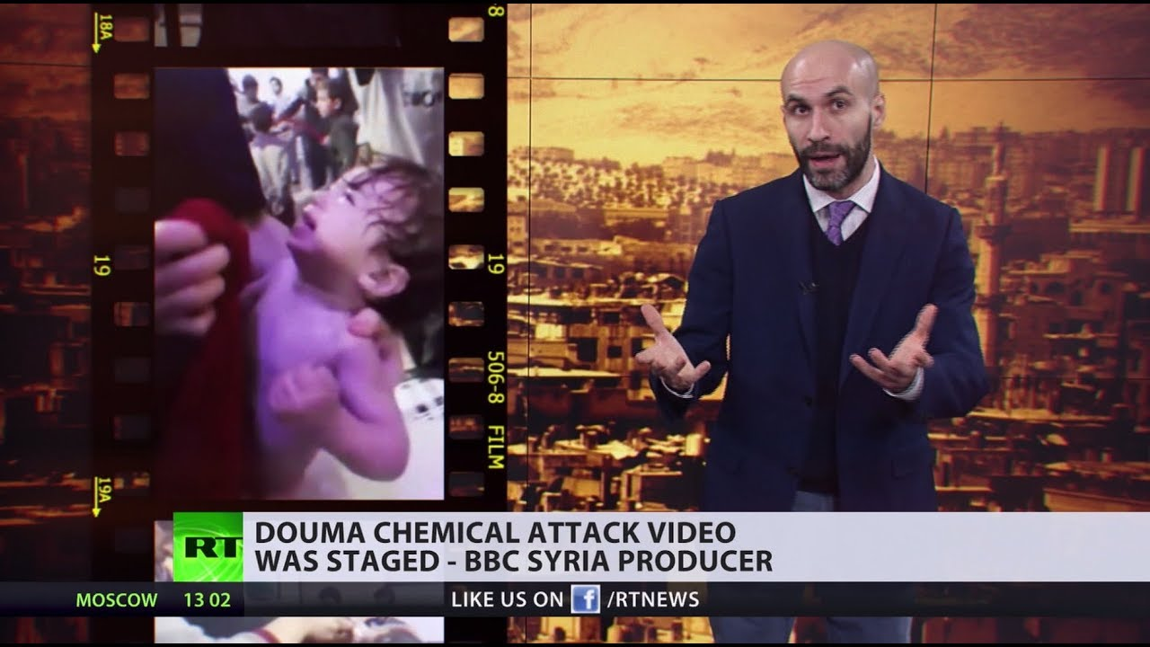 Douma chemical attack video was staged – BBC Syria producer