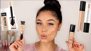 BEST DRUGSTORE & HIGH END CONCEALERS 2019 | Blissfulbrii