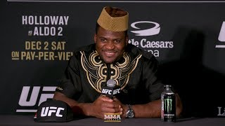UFC 218: Francis Ngannou Post-Fight Press Conference - MMA Fighting