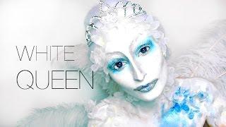Lufy - STRANGE WHITE QUEEN - Maquillage Halloween facile - Halloween Make Up Easy