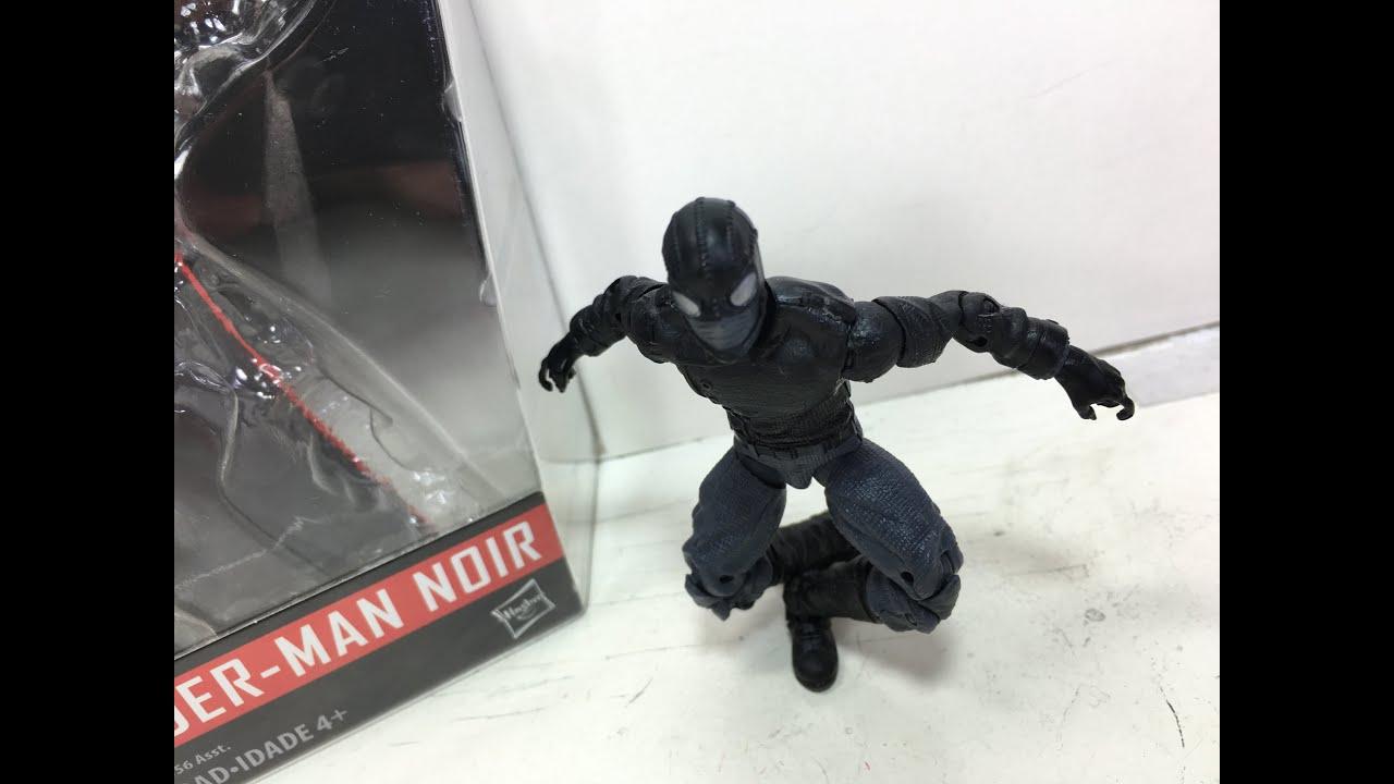 Marvel legends series 3 75 inch spider man noir toy review - Spiderman noir 3 ...