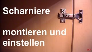 scharniere video. Black Bedroom Furniture Sets. Home Design Ideas