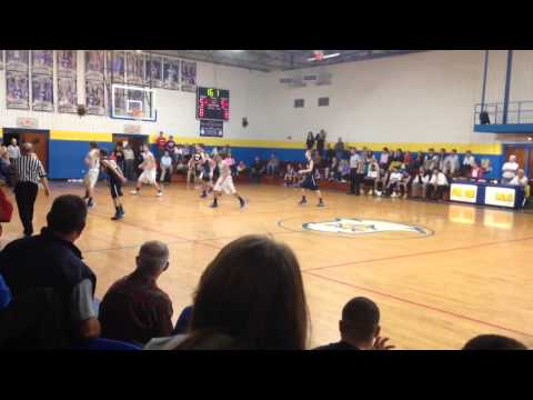 Jesse Lane makes half court buzzer beater to give Pee Dee Academy the win