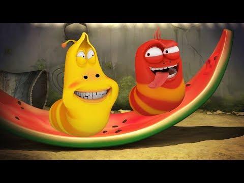 LARVA - MELON MUNCH | Cartoon Movie | Cartoons For Children | Larva Cartoon | LARVA Official