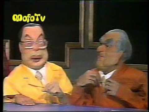 Cabaré do Barata (1989): Debate dos bonecos