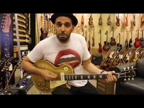 Norman's Rare Guitars - Guitar of the Day: 1956 Gibson Les Paul Standard Goldtop