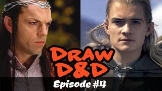 Draw D&D #4: Drawing Elves from LOTR!