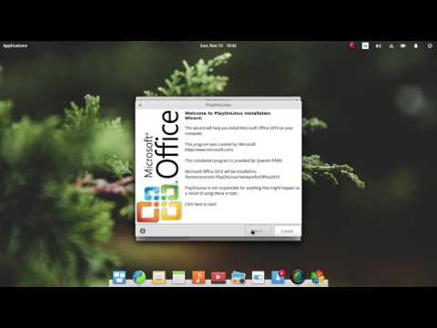 How to Install Microsoft Office 2010 on Elementary OS 0.4.1 Loki