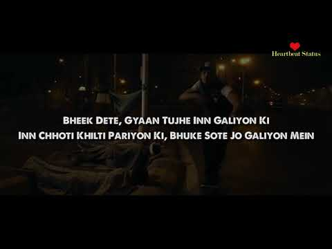 DIVINE - Jungli Sher Lyrics Music Video