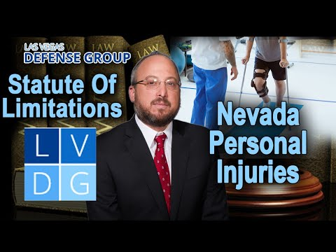 What are the statute of limitations for Nevada personal injury cases?