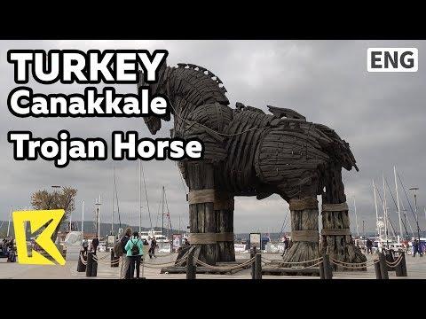 【K】Turkey Travel-Canakkale[터키 여행-차낙칼레]트로이 목마/Trojan Horse/Truva Heykeli/Trojan Statue/Filming site