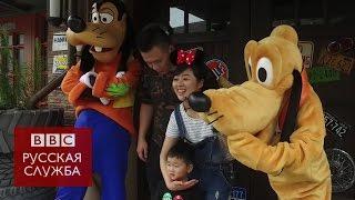 видео В Китае открылся первый Диснейленд