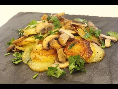 pommes-de-terre-sautées-aux-champignons