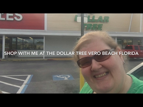 Dollar Tree Shop With Me US1 Vero Beach Florida March 24, 2017