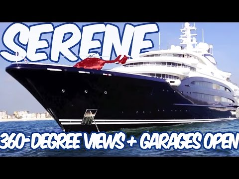 Yuri Shefler See His Crazy Us 400 000 000 Serene Yacht