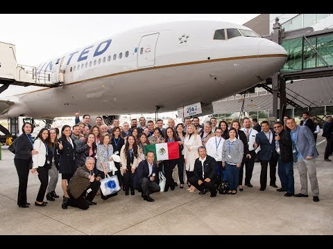 United - Latin American Delivery Flight - Spanish Version