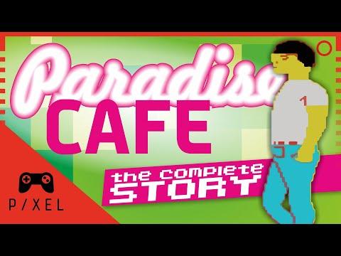 PARADISE CAFÉ, the COMPLETE STORY [1985, ZX Spectrum] | It's a Pixel THING - Ep. 69