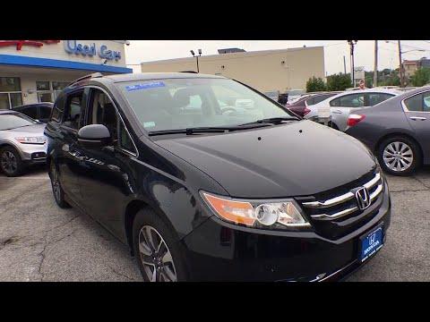 2015 Honda Odyssey White Plains, New Rochelle, Westchester, Scarsdale, Greenwich, NY U24927P