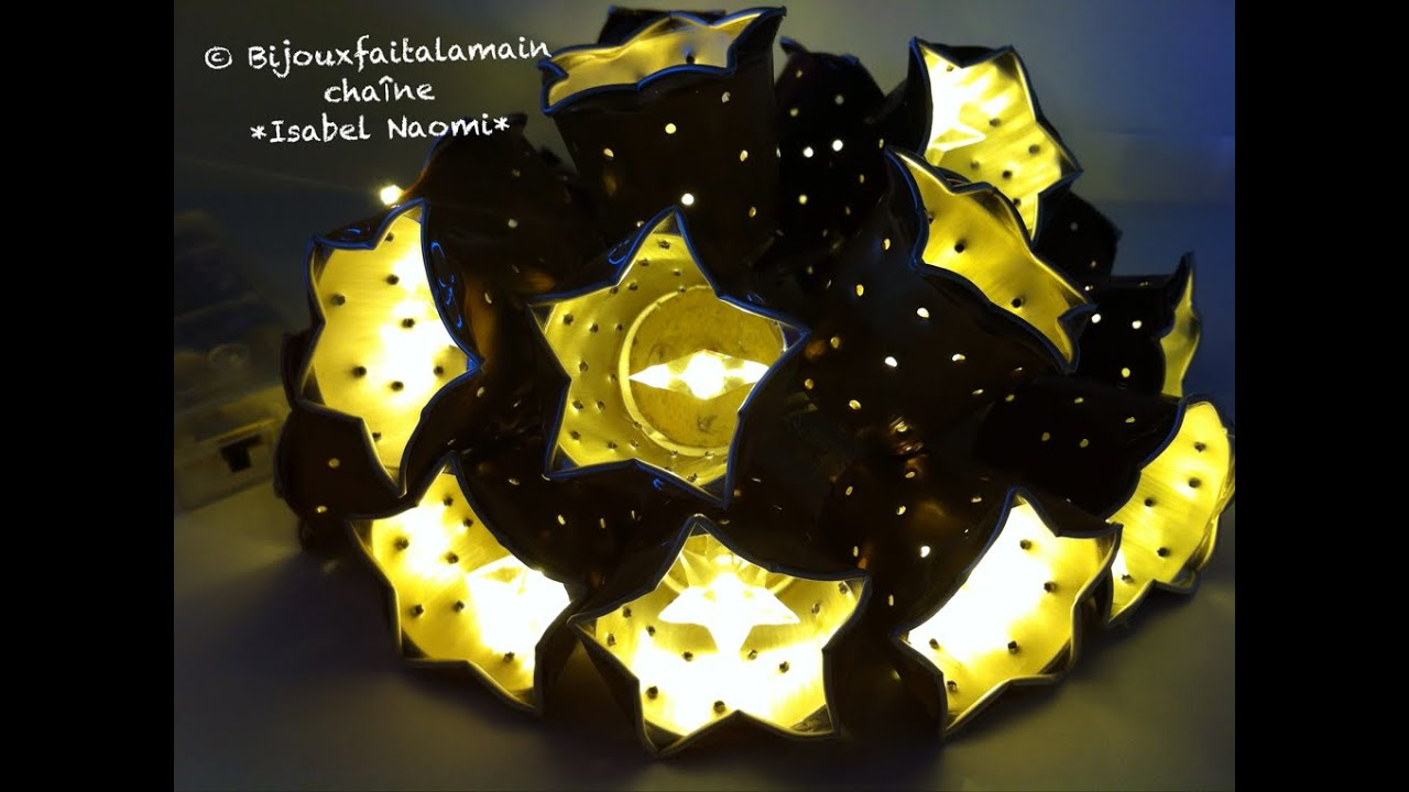 diy coffee pod comment faire une guirlande lumineuse no l. Black Bedroom Furniture Sets. Home Design Ideas