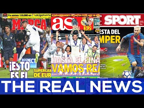 Sergio Ramos, Real Madrid's guardian angel | THE REAL NEWS