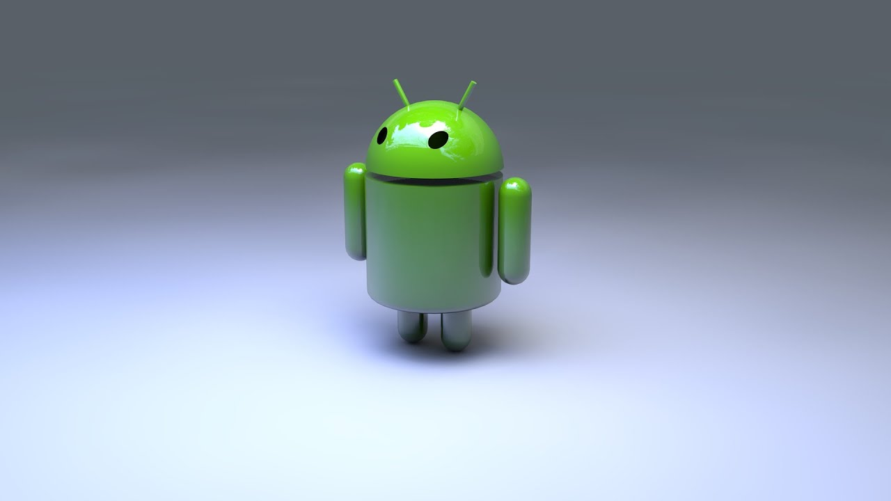 Android Logo 3D - Speedart|by EmeraldPictures - YouTube