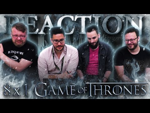 Game of Thrones 8x1 REACTION!! 'Winterfell'