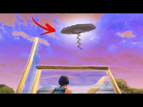 BUILDING THE WORLD'S BIGGEST UFO | Fortnite Battle Royale