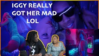 SHE GOT PISSED!! MOM REACTS TO IGGY AZALEA - KREAM ft TYGA