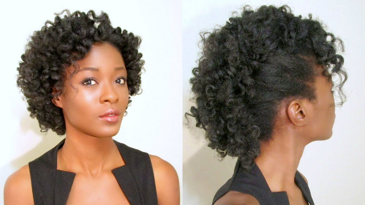 curly mohawk frohawk natural